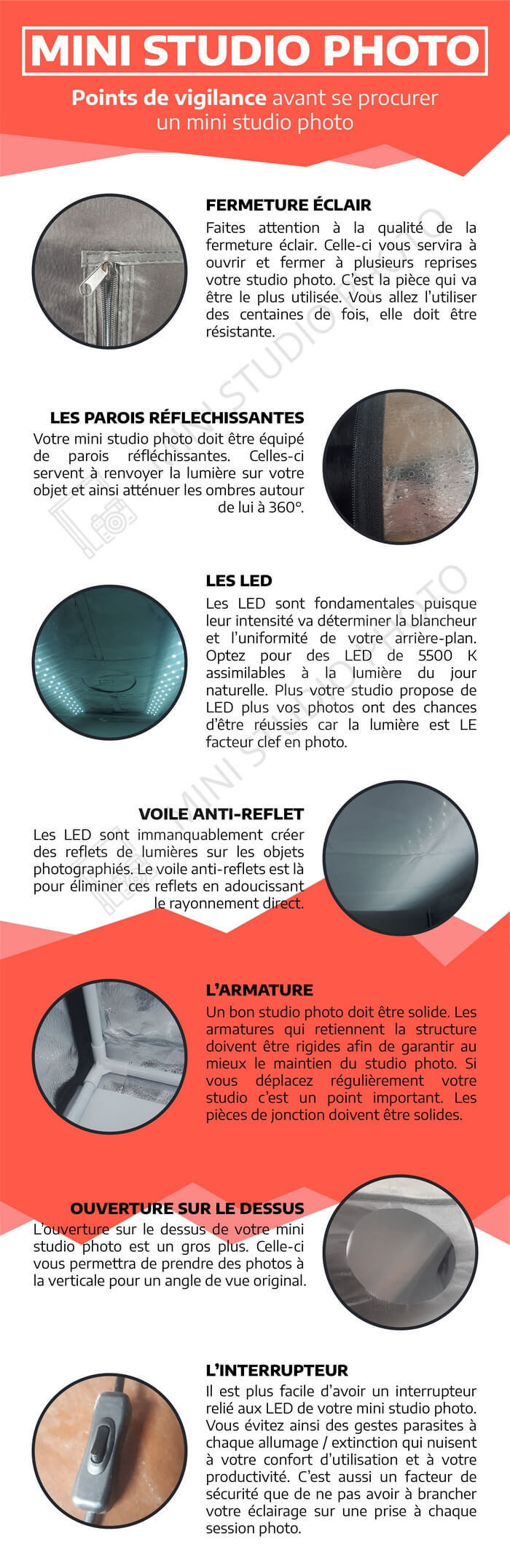 infographie studio photo