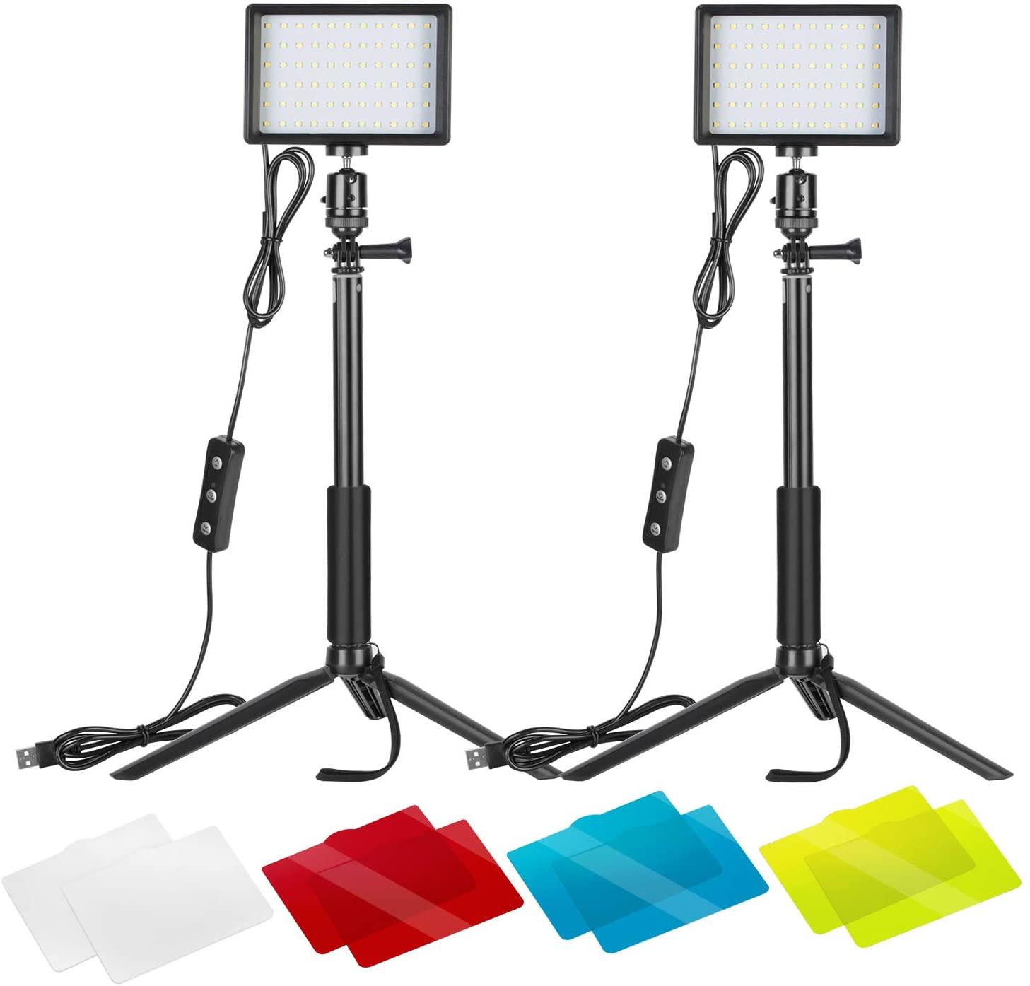 lot de 2 panneaux lumineux LED